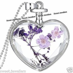 BLACK FRIDAY DEALS  NEW Silver Heart amp Purple Flower Necklace Xmas Gift For Her - <span itemprop=availableAtOrFrom>Nottingham, United Kingdom</span> - Returns accepted Most purchases from business sellers are protected by the Consumer Contract Regulations 2013 which give you the right to cancel the purchase within 14 days after the d - Nottingham, United Kingdom