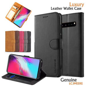 Samsung-Galaxy-S10-5G-S10E-Plus-S8-S9-Note-8-9-Wallet-Case-Leather-Flip-Cover