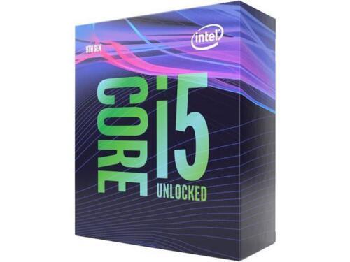 Desktop Processor Intel Core i5-9600K Coffee Lake 6-Core 3.7 GHz 4.6 GHz Turbo