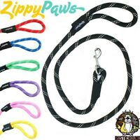 Zippypaws Mountain Climbers Original Rope Dog Leash 6ft- Teal Now Available