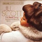 The Real Thing: Words and Sounds, Vol. 3 [CD/DVD] [Limited] by Jill Scott (CD, Sep-2007, 2 Discs, Hidden Beach)