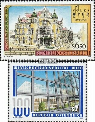 Humorous Austria 2263,2264 Used 1998 Special Stamps complete Issue