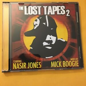 DJ Mick Boogie NAS Unreleased The Lost Tapes 2 RARE Mixtape