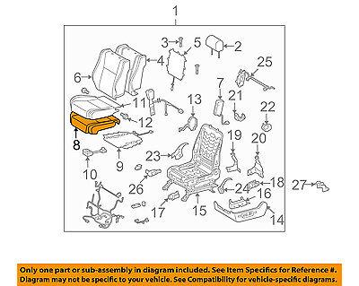 Toyota Genuine 71504-0C040 Seat Cushion Pad