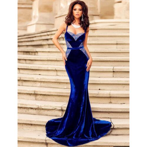 M Suzanjas elegantes Abendkleid in Königsblau Größe L 38-40