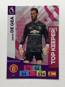 David De Gea Manchester United Panini Adrenalyn Trading Card