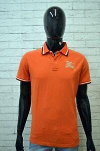 BURBERRY-LONDON-Maglia-Polo-Uomo-Taglia-L-Maglietta-Manica-Corta-Shirt-Man
