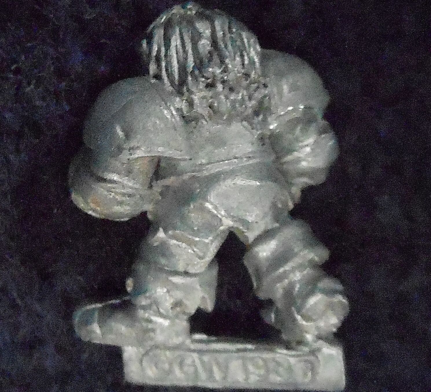 1989 Chaos Dwarf Bloodbowl 2nd Edition Player 4 Citadel Fantasy Football Lineman
