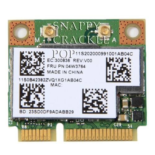 Lenovo Thinkpad Edge Wireless N Bluetooth 4.0 Card E531 E535 E545 S430 S431 S530