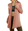 Sofra-Women-039-s-Open-Front-Soft-Draped-Long-Sleeve-Cardigan-Sweater-Longline-Tunic thumbnail 12