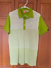 432b7ef37453 Men S PUMA Yarn Dye Stripe Block Golf Polo Shirt Beetroot Purple ...