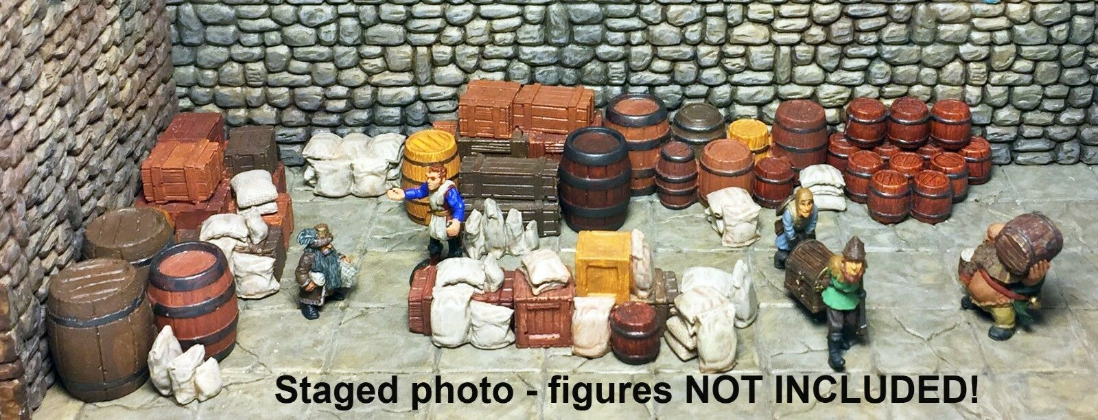 Painted Tavern Storeroom Set  - Works with Dwarven Forge and DnD D&D