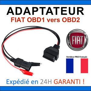 Adaptateur Obd2 Vers Fiat Obd - Diag Obd2 Elm327 Ecu Scan Multiecuscan