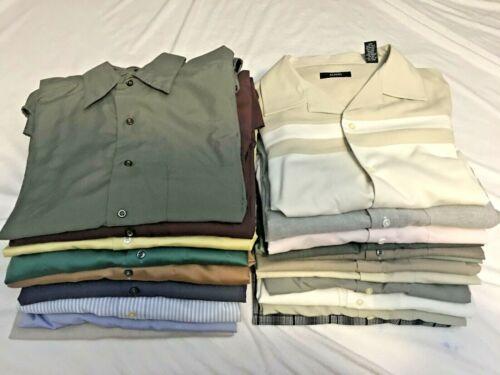 Lot of 22 Men's Dress Shirts