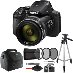 Nikon COOLPIX P900 Digital Camera with 83x Optical Zoom and Accessory Kit 718174967998