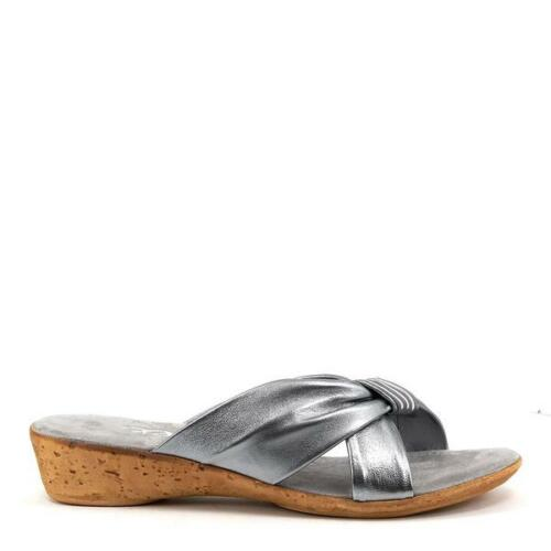 ONEX WOMEN/'S OASIS COMFY LIGHTWEIGHT SLIDE SANDAL MADE IN ITALY