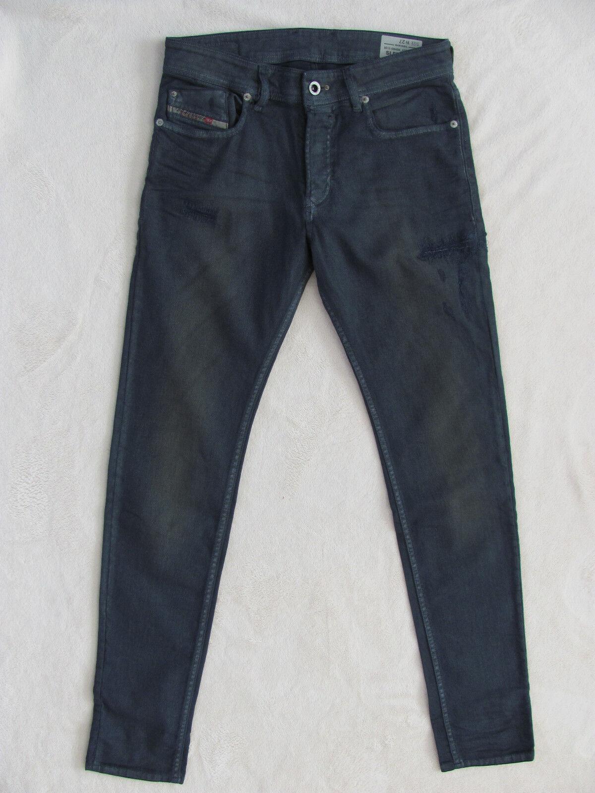 2026d535 Sleenker Jeans-Slim Skinny-Wash 0840K Midnight bluee-Size NWT Diesel 27-  npxfxc6388-Jeans