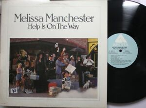 Rock-Lp-Melissa-Manchester-Help-Is-On-The-Way-On-Arista