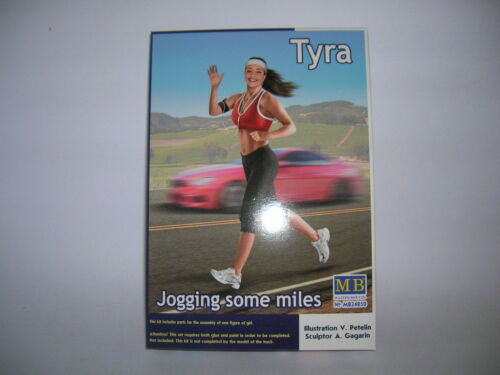 MB Master Box Tyra Jogging some miles Figur 1:24 Bausatz Model Kit 24050