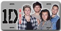 Lk One Direction 1d License Plate - Vanity Auto Tag Harry Niall Louis Liam