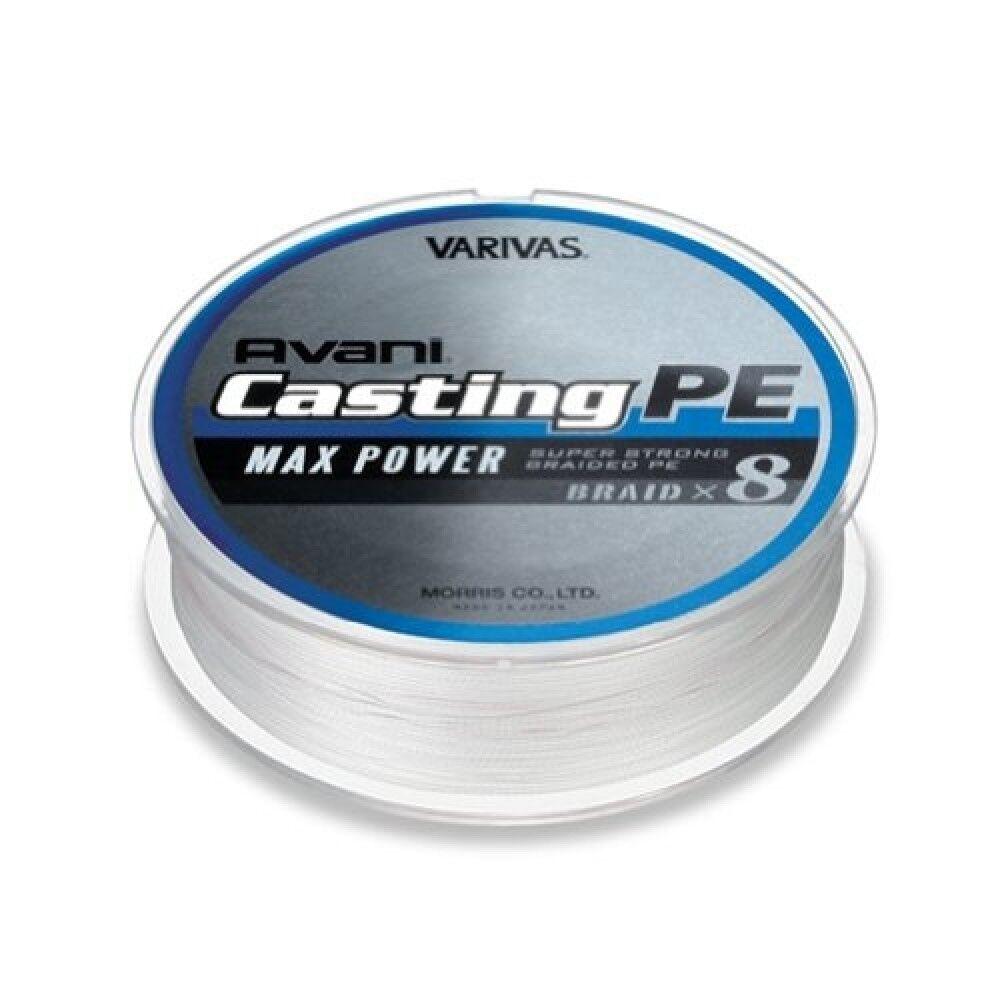 Morris VARIVAS Avani Casting PE Line Max Power 8 Braid 300m  3 max 48lb P.E