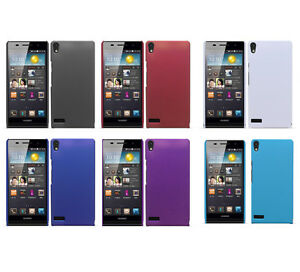 Hard-Rubberized-Matte-Snap-On-Slim-Cover-Case-for-Huawei-Ascend-P6