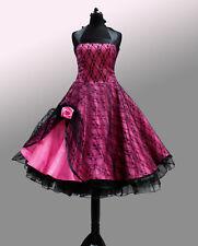 NEU!Abendkleid Petticoat kleid Abiballkleid 50er Jahre Standesamt Brautkleid