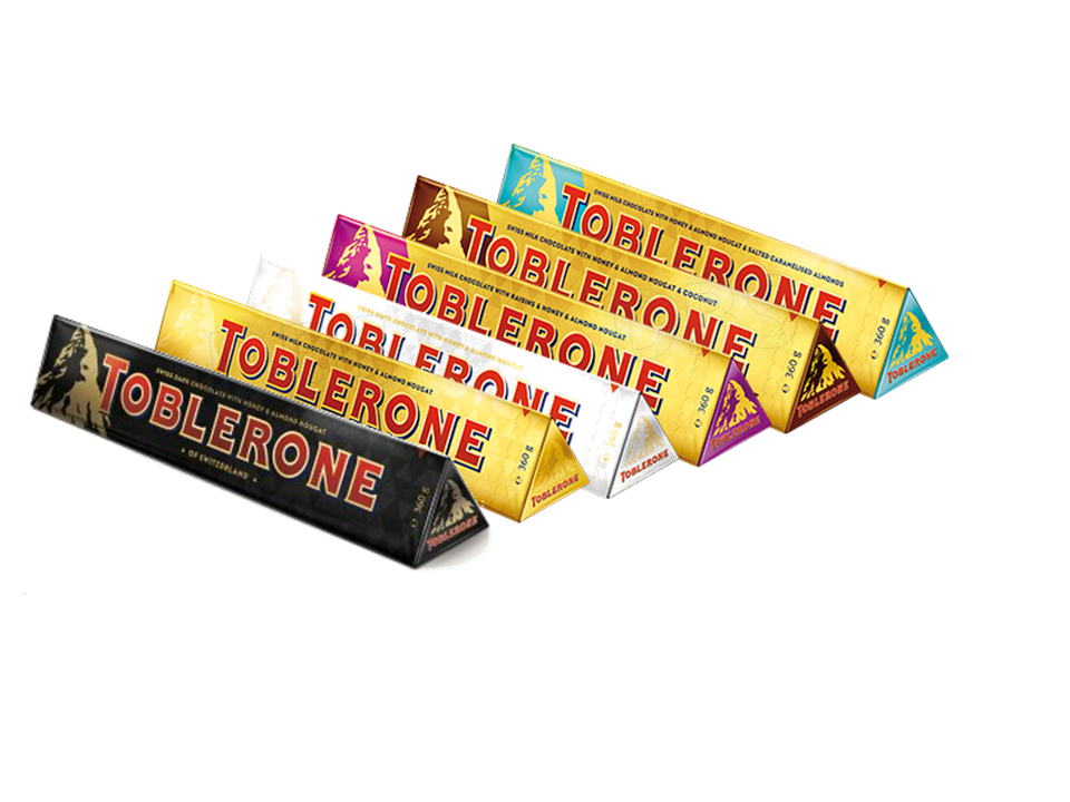 Toblerone Chocolate Giant 360g Bars Milk Dark White Fruit Nut Mix And Match