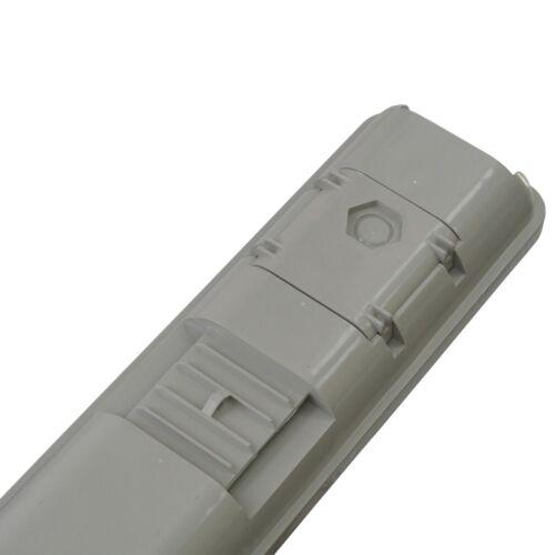 LED 5ft Anti Corrosive IP65 Industrial Batten 60 Watt 4000K Commercial Light x 6