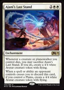 MTG Magic - (R) Core Set 2019 - Ajani's Last Stand - NM/M