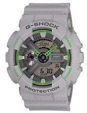 Casio G Shock *GA110TS-8A3 Gshock Watch Matte Ash Grey Neon Green COD PayPal
