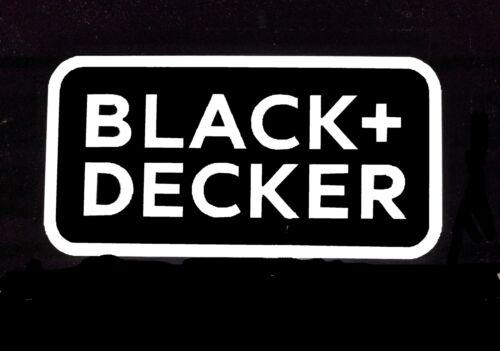 Black /& Decker Tools Vinyl Decal Sticker 75139z