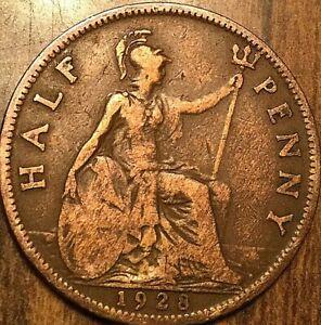 1928-UK-GREAT-BRITAIN-HALF-PENNY
