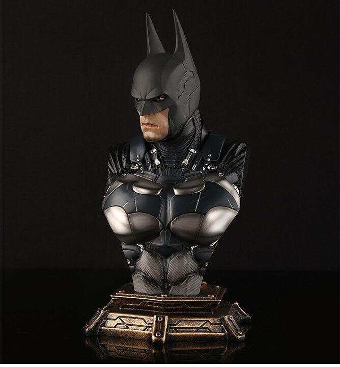 11  Arkam Knight Batman 1 3 Bust Recast With 3 Heads Resin Statue Model Figure