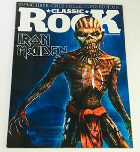 Classic Rock Magazine October 2015 #215 - Iron Maiden & John Lydon UK Import