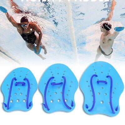 Fitness Swim Hand Paddles Resistance Swimming Training Triathlon Blue S