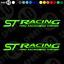 1 COLORES-FIESTA FOCUS ST 4775-0119 St Racing STICKER Vinyl Decals Grande