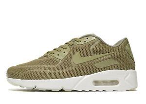Nike-Air-Max-90-Ultra-2-0-Breathe-Men-039-s-Trainer-UK-6-amp-10-5-Olive-Brand-New