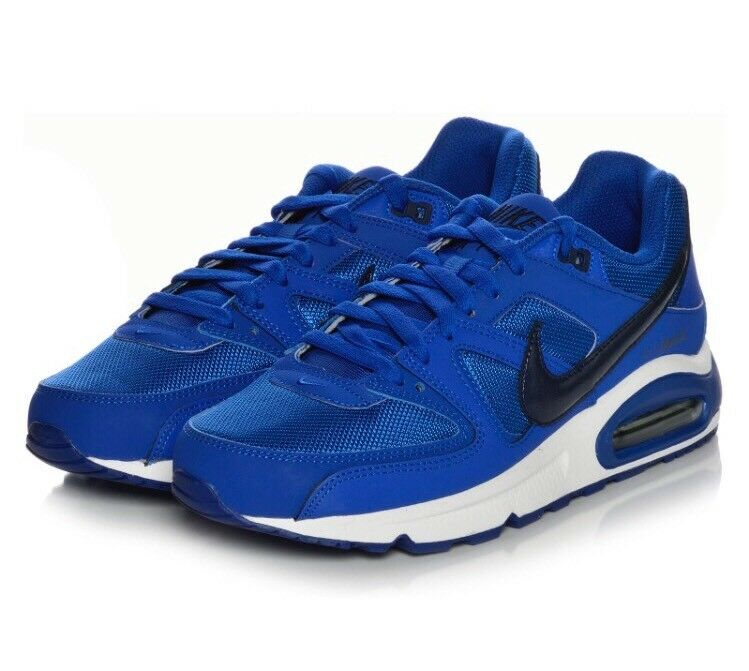 Homme Neuf Nike Air Max Comhommed paniers Game Royal Navy Taille UK8 Ex-display