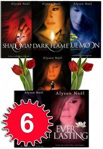Details about the immortals series 6 books collection set alyson noel