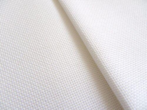 Blanco 20 Conde Zweigart bellana Evenweave Tela 50 X 138 Cm