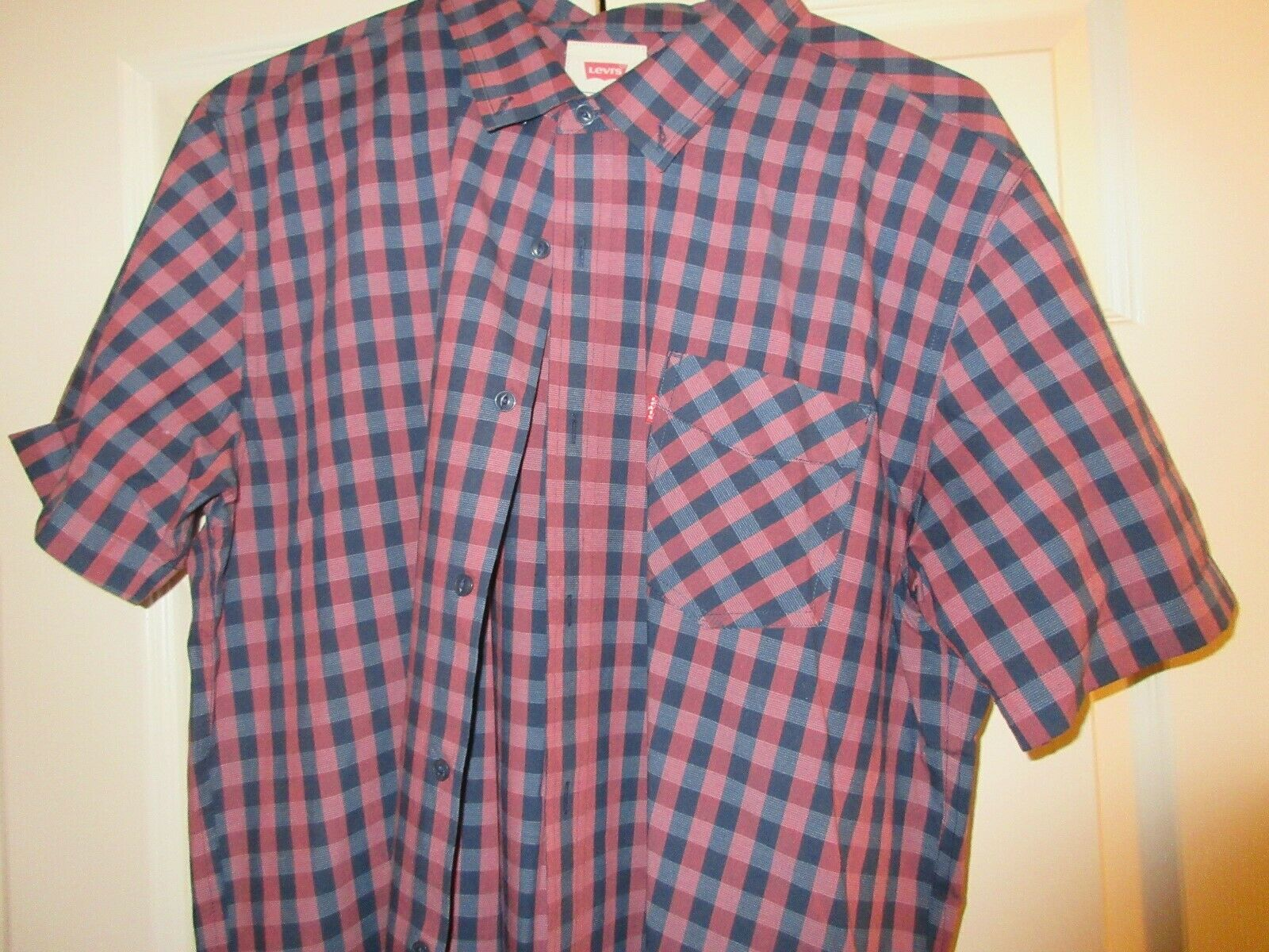 Levi's, Men's Short Sleeve , XL , 60% Cotton , 40% Poly