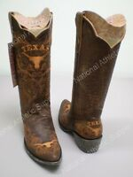 Texas Longhorns Women's Boots By Game Day In The Color Brown