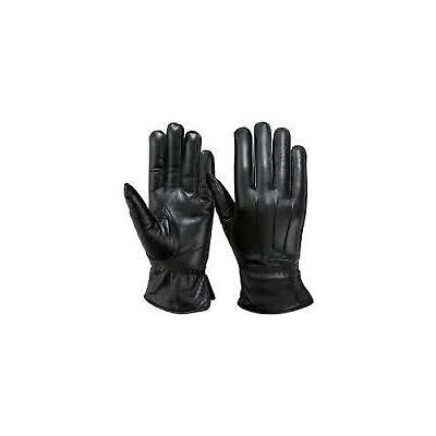 Gloves Men Gents Big Gloves in pure Leather for Winter Season for Driving