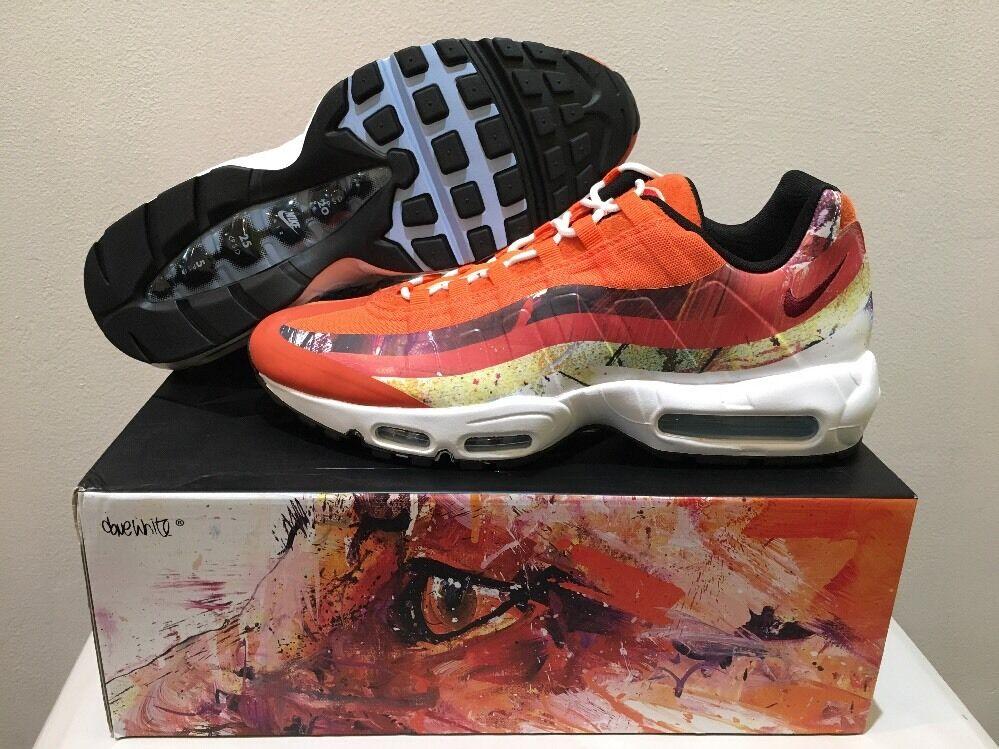 658b293e2f 70%OFF Dave White X Nike Air Max 95 Premium Fox 872640-600 Size 13 ...