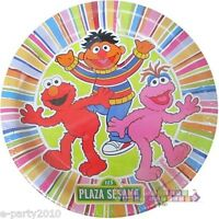 Sesame Street Spanish Plaza Sesamo Small Plates (8) Birthday Party Supplies
