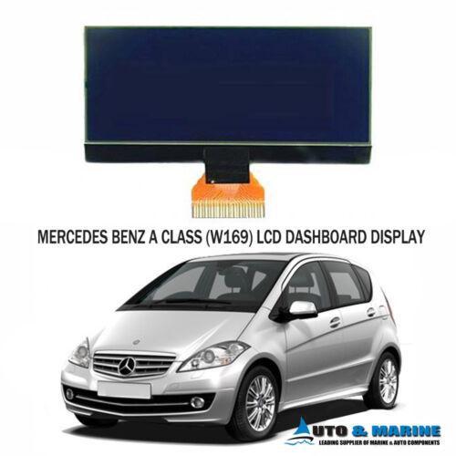 MERCEDES BENZ A CLASS W169 LCD VDO DISPLAY DASHBOARD SCREEN 7 VOLT NEW