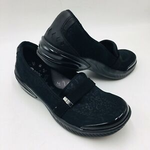 Bzees Women's Nugget Washable Comfort Slip-On Flat Size 9 ...
