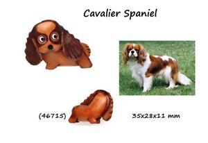 Llavero-Piel-Autentica-Hombre-Mujer-Razas-Perros-Spaniel