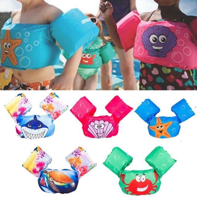 Baby Kid Swim Toddler Float Swimming Ring Pool Infant Life Jacket Buoyancy Vest